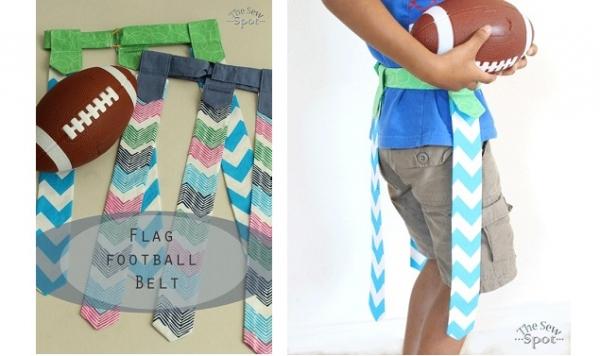 Tutorial: Flag football belt