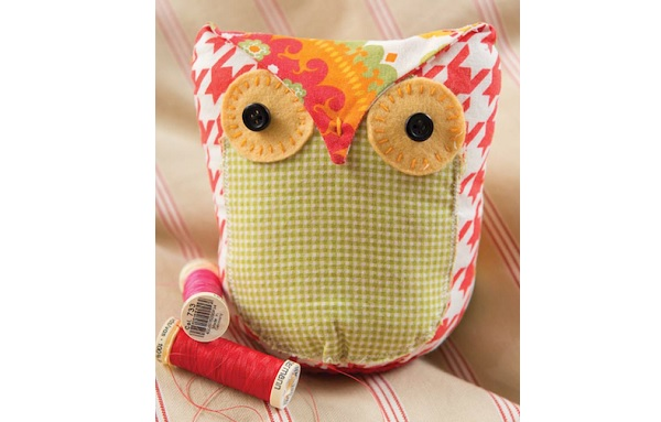 Free Pattern: Owl Softie