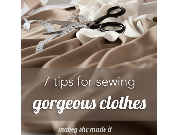 7 tips for sewing clothes you're proud of