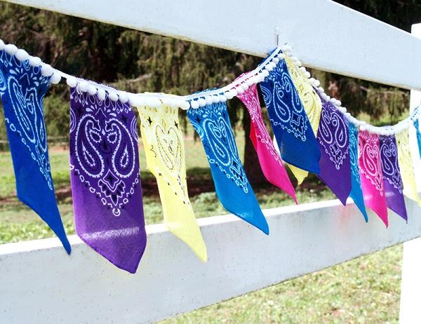 Tutorial: Easy bandana banner