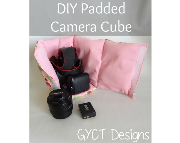 Tutorial: Padded camera cube for your purse