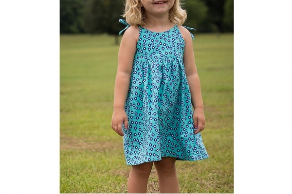 Free pattern: Simple Summer Sundress for little girls – Sewing