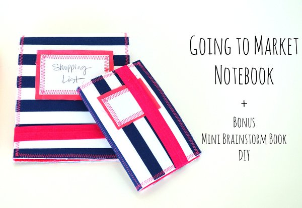 Tutorial: Going to Market Notebook and a Mini Brainstorm Book