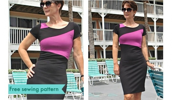 Free pattern: Perfect for Work (or going out) dress