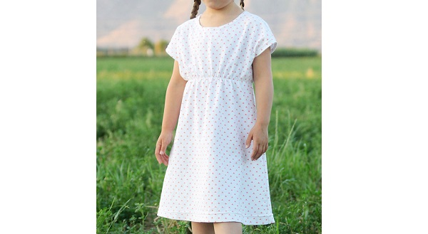 Free pattern: Play-All-Day Dress for girls