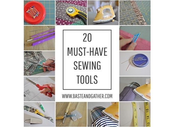 How many of these 20 must-have sewing tools do you own?