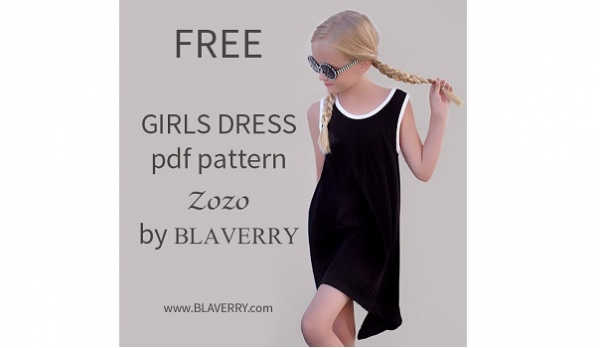 Free pattern Girls trapeze tank dress Sewing Amazing Tank Dress Pattern