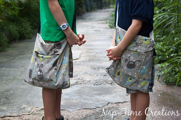 Tutorial: Boys messenger bag