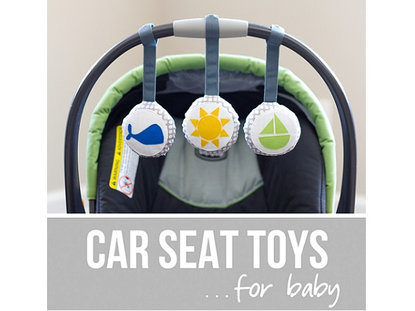 Tutorial: Baby car seat toys