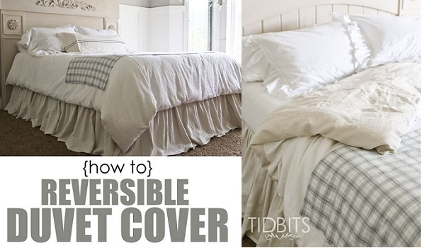 Tutorial: DIY reversible duvet cover