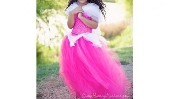 Tutorial: No-sew princess tutu dress