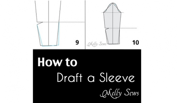 tutorial  how to draft a sleeve pattern  u2013 sewing