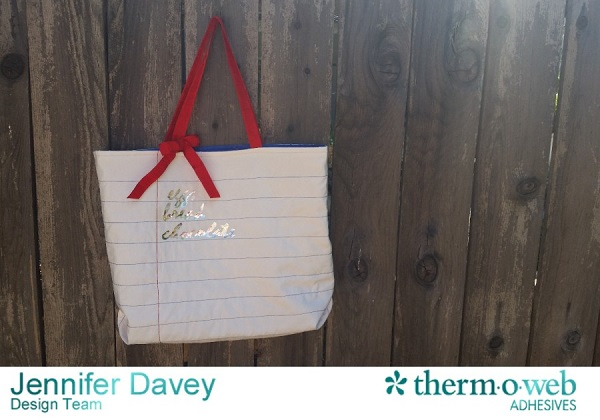 Tutorial: Shopping list tote bag
