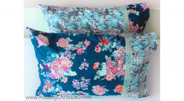 Tutorial: Burrito method pillowcase with French seams