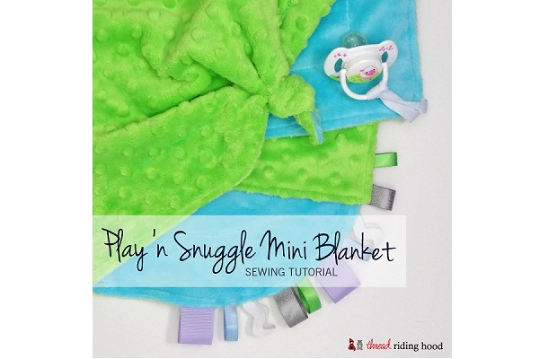 Tutorial: Play 'n Snuggle Mini Blanket