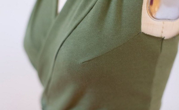 how to fix gaping shirt armholes