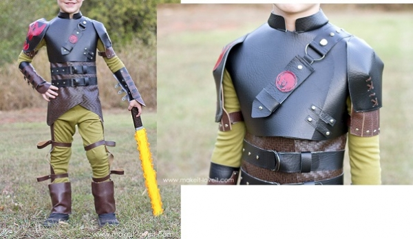 Tutorial: DIY Hiccup costume