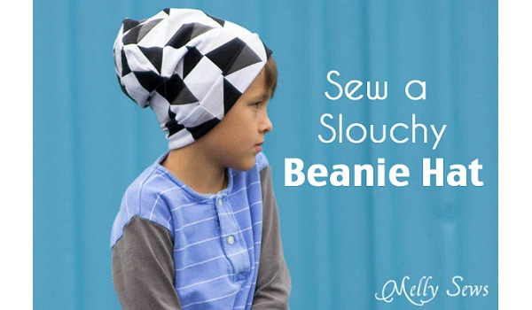 Tutorial: Slouchy beanie hat in all sizes