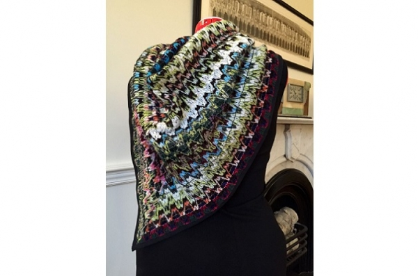 Tutorial: Sweater knit scarf wrap
