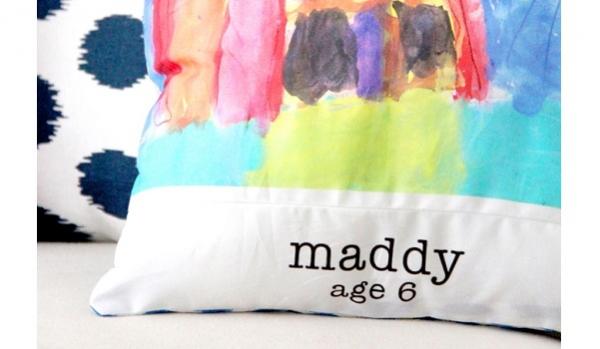 Tutorial: Preserve your child's artwork as custom print fabric