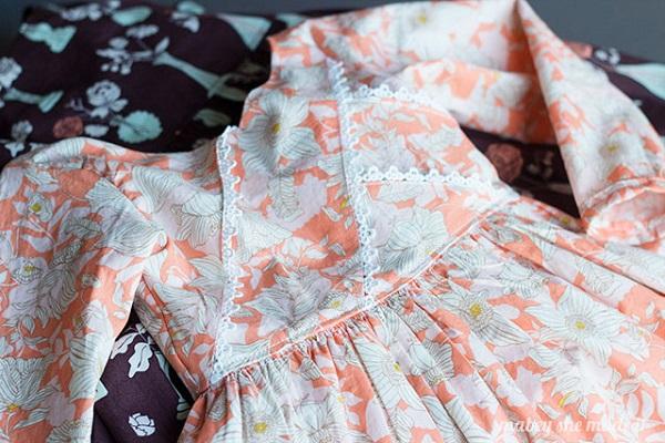 Free pattern: Girls Origami Dress