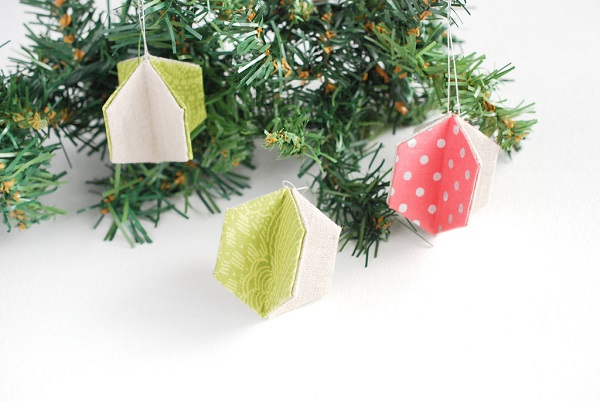 Tutorial: 3D hexagon ornaments