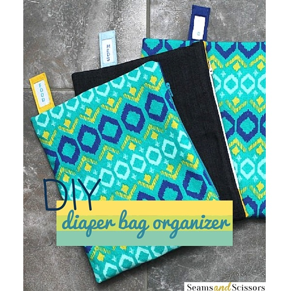 Tutorial: Organize a diaper bag with these DIY zip pouches