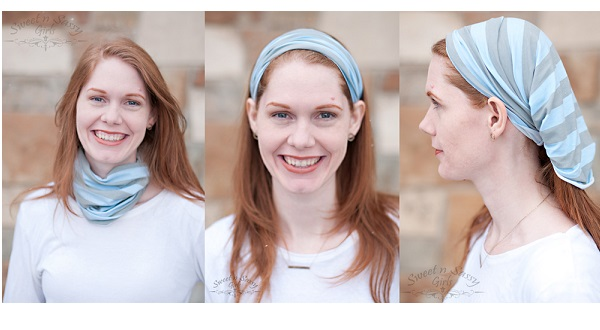 Tutorial: Easy knit headband you can wear 3 ways
