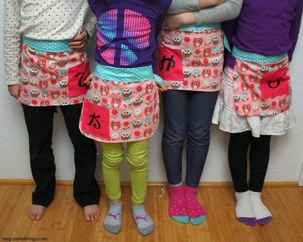 Free pattern: 20-minute child-sized apron