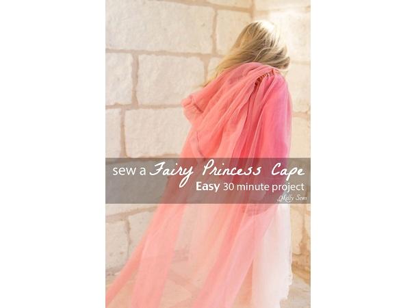 Tutorial: 30-minute easy fairy princess cape