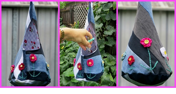 Tutorial: Pod shaped peg bag
