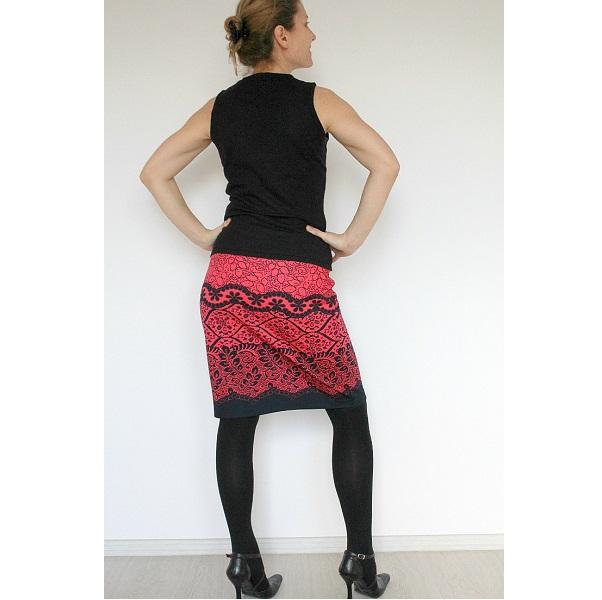 Tutorial: Easy knit pencil skirt