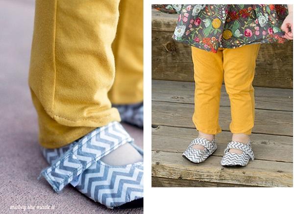 Free pattern: Tulip ankle leggings for little girls