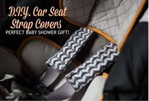 Tutorial: Car seat strap covers