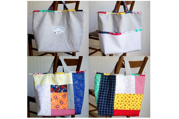 Tutorial:  Japanese Knock-Off Linen Tote