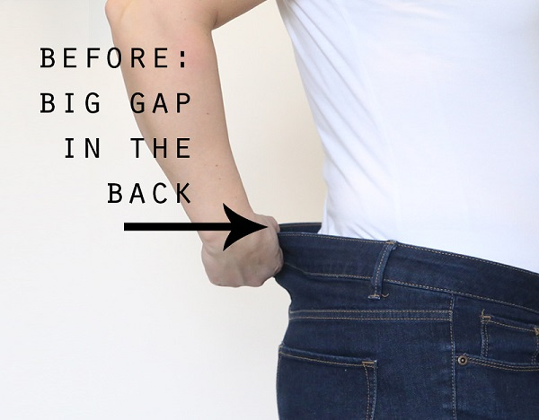 Tutorial: Get rid of jeans gap!