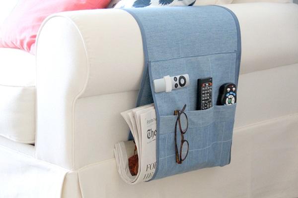 Tutorial: Remote control organizer caddy