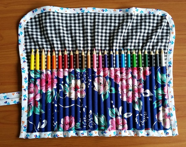 Tutorial Adult Coloring Book Pencil Roll