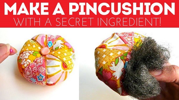 How to make a pincushion that sharpens your pins and needles