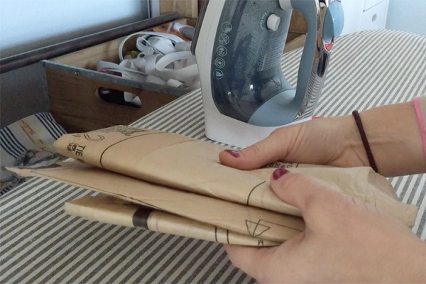 Video: How to get a tissue sewing pattern back into the envelope