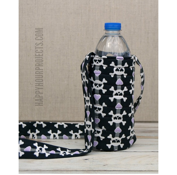 Tutorial: 15-minute water bottle sling