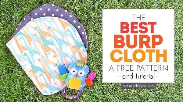 Free pattern: Best Burp Cloth