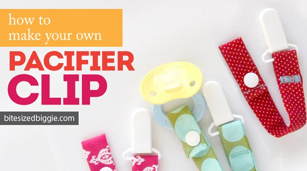 Tutorial: How to make a pacifier clip