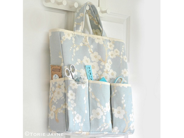 Tutorial: Craft organizer tote bag