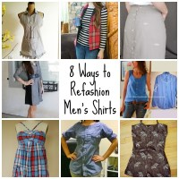 8 Ways to Refashion Men's Shirts