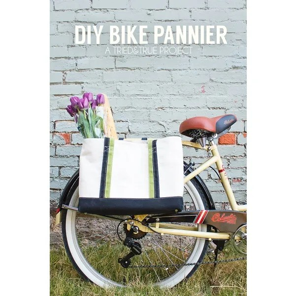 Tutorial: Make a bike pannier from any tote bag