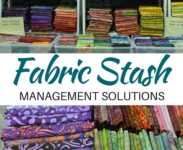 Too much fabric? Ideas for reducing your fabric stash