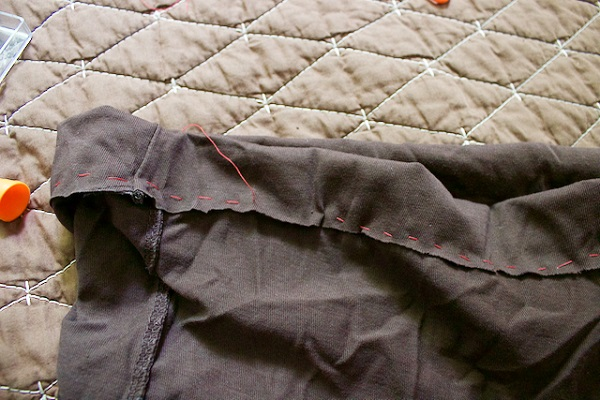 Pintester's 10-minute skirt sewing fail