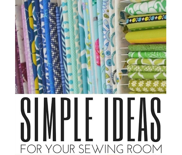 5 ways to make your sewing space more functional