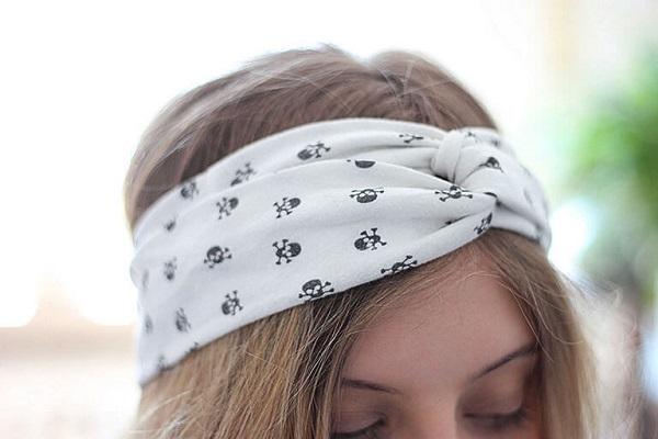 Tutorial: Twisted turban headband